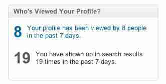 who has been looking at your LinkedIn profile