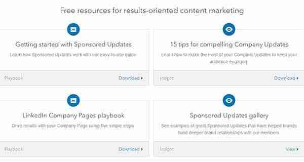LinkedIn Adds Sponsored Updates