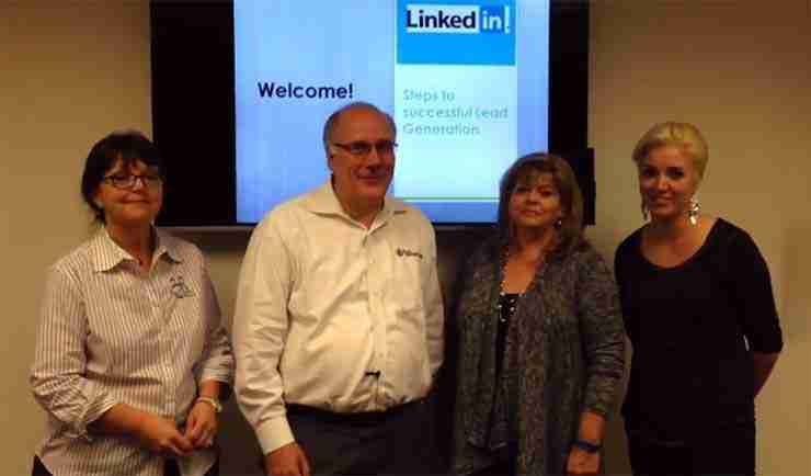 Generating leads LinkedIn workshop