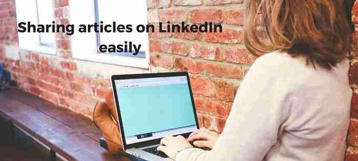Share Any Webpage Directly to LinkedIn