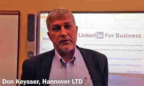 LinkedIn Speaker Trainer testimonial