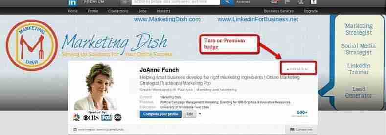 LinkedIn Offers New Banner Image Premium Accounts