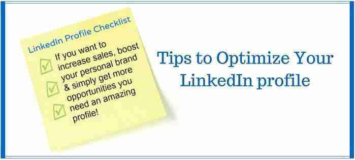 The Ultimate Cheat Sheet on Optimized LinkedIn Profile