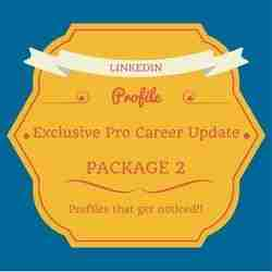 LinkedIn Pro 'Done For You' Career Update Pkg 2