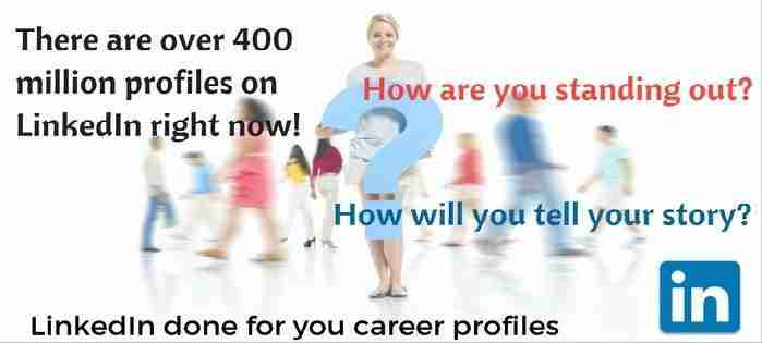 Career Oriented LinkedIn Profile Update""