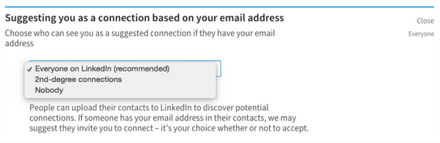LinkedIn-privacy-email-address-