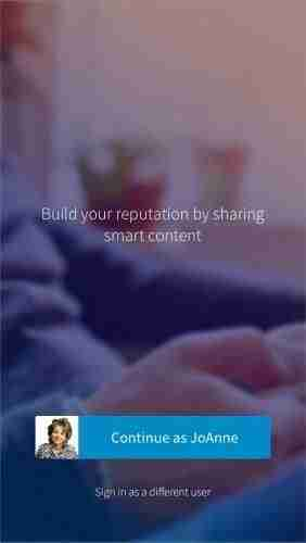 LinkedIn Elevate App mobile