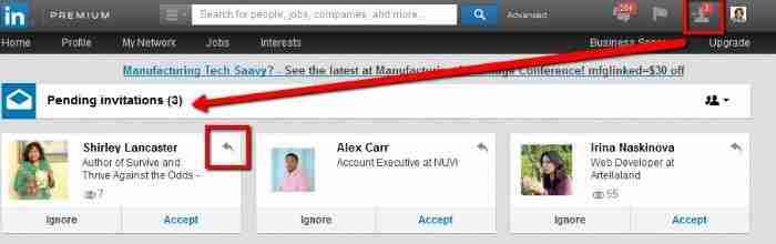 LinkedIn Invitation Messages
