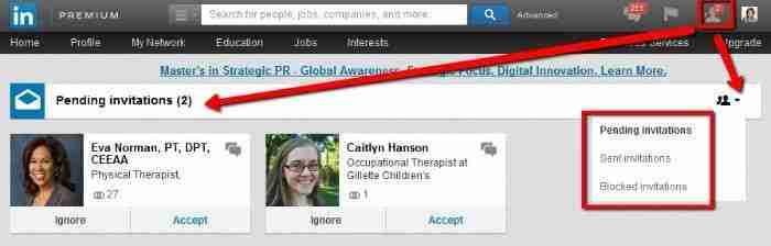 LinkedIn-invitation-request-with-message-bubble-