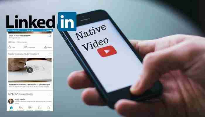 Image For LinkedIn Rolling Out Native Video Via Mobile