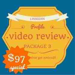 LinkedIn Career Profile video package 3