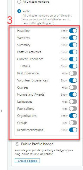 LInkedIn Most Important Settings